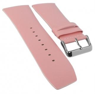 Bruno Banani Ersatzband 34mm rosa glatt Leder DT6 100 304 DT6 102 302 DT6 900 308