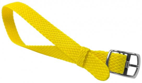 Minott Uhrenarmband 12mm Textil gelb gleichlaufend wasserfest
