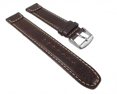 Soft Vintage Uhrenarmband Kalbsleder Band Braun 24012S