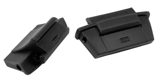 Casio Collection Endlink Endstück Cover End Piece aus Resin schwarz für AE-2000WD