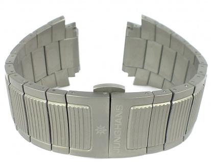 Junghans Mega 1000 Uhrenarmband 24mm Titan Band 026/2800