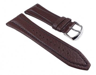 Police Uhrenarmband Leder Band Braun 30mm für P11476JS-01 P11476