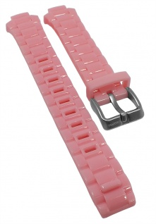 Calypso Ersatzband rosa Kunststoff Schließe silberfarben K5678 K5679 KM5679