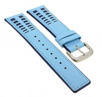 Bruno Banani Magic Egg Ersatzband 24mm in blau aus Leder ME4 032 332 BR20622 BR20620