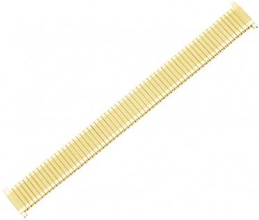 Minott Zugflexiband XL 12-16mm gelbgoldfarben Teleskopanstoß Edelstahl/PVD