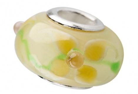 Charlot Borgen Marken Damen Bead Beads Drops Kristallglas Silberkern GPS-48Beige