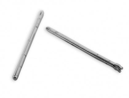 Citizen | 2x Splinte Bandstifte Open End Pins Ø 0, 85 mm 19mm für Edelstahlbänder u.a JY0040