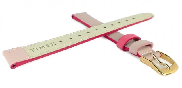 Timex Easy Reader Ersatzband 14mm Leder rosa Naht PW2R62800 TW2R62800 - Vorschau 2
