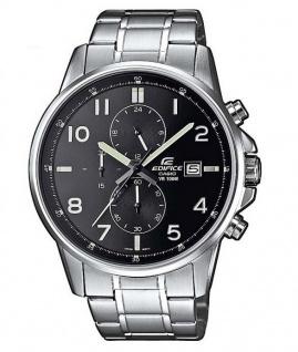 Casio Edifice Herrenuhr Chrono Armbanduhr Edelstahl 10 Bar/100 M EFR-505D-1AVEF