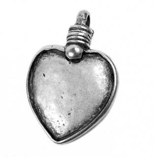 Minott Anhänger Herz aus versilbertem Messing 19494