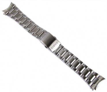 Casio Uhrenarmband 22mm Edelstahl Band Silberfarben für AMW-706D AMW-704D