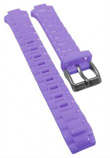 Calypso Ersatzband lila Kunststoff Schließe silberfarben K5678 K5679 KM5679