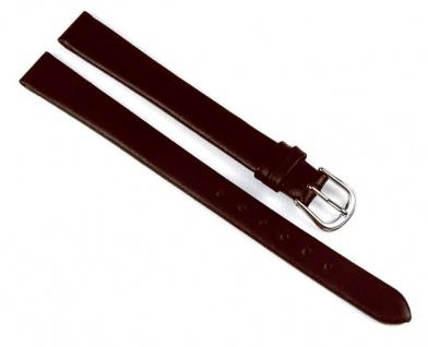 Uhrenarmband Leder Dolly braun 12mm XL