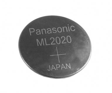 Knopfzelle Akku ML-2020 Lithium Wiederaufladbar passt in Solar Casio Uhren