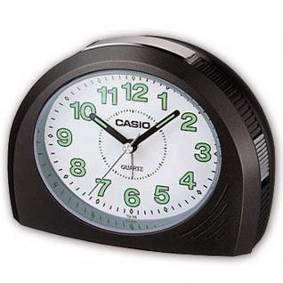 Casio Analog Wecker Bell Alarm mit Snooze schwarz TQ-358-1EF