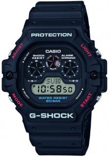 Casio G-Shock Digitale Herrenuhr DW-5900-1ER in schwarz mit DW-5900-1ER