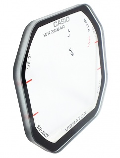 Casio G-Shock Mineral Ersatzglas Aufdruck schwarzer Rand GD-350 GD-350-1