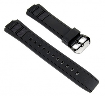 Casio Uhrenarmband Resin Band schwarz für EFR-515PB-1*