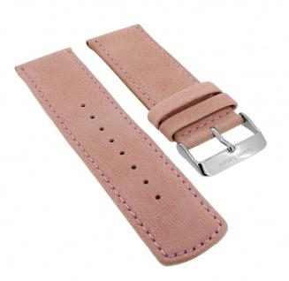 Bruno Banani Big Square Ersatzband 26mm in rosa aus Leder SQ4 009 309 BR20687 BR20685 BR20682