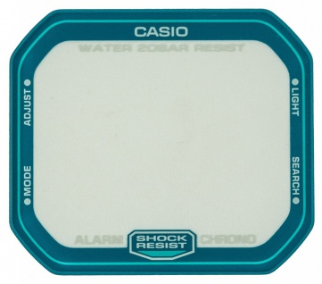 Casio Ersatzglas Uhrglas Mineralglas eckig für DW-D5600