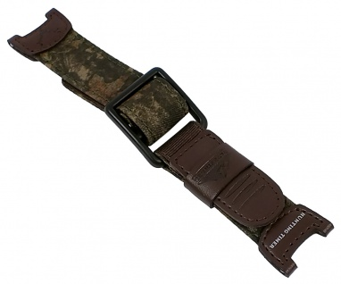Casio Uhrenarmband Leder / Textil Band Camouflage für PAS-410B