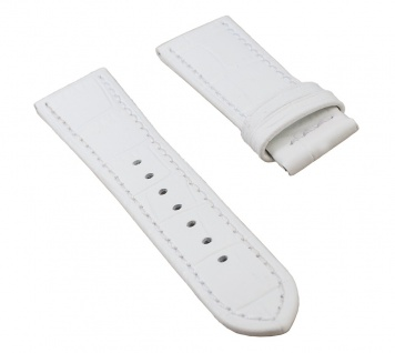 Jaguar Swiss Made Damen Uhrenarmband Leder Band weiß 18mm für Modell J646 J647 J648 J649