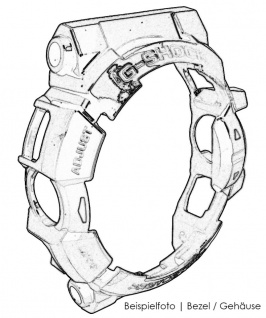 Citizen Promaster Automatik Lünette Titan titanfarben grüner Ring NY0100-50XE