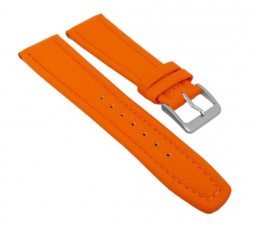 Graf Manufaktur Montana Uhrenarmband Walknappa Band Orange 26377S