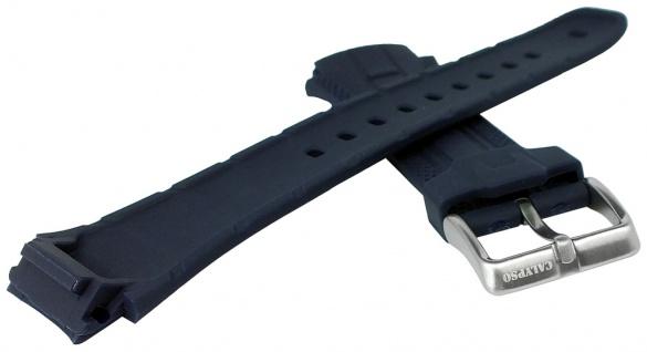 Calypso Watches Uhrenarmband Kunststoff Band blau mit Struktur für Modell K5634/A - Vorschau 2