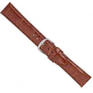 Uhrenarmband Ersatzband Leder Band Braun 26574S