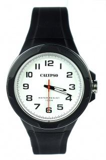 Calypso Herrenuhr analog schwarz Kunststoff Armbanduhr Uhr Quarzuhr K5781/1