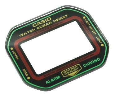Casio G-Shock Mineral - / Ersatzglas mehrfarbig DW-5600 DW-5600THC-1