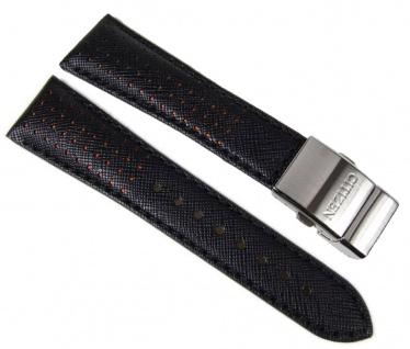 Citizen Uhrenarmband Leder Band für AS4025-08E 23mm