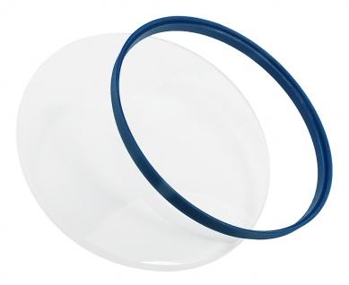 Skagen Balder Chronograph Ersatzglas Mineralglas mit blauer Dichtung SKW6478