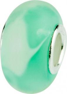 Charlot Borgen Marken Damen Bead Beads Drops Kristallglas Silberkern GPS-52Türkis