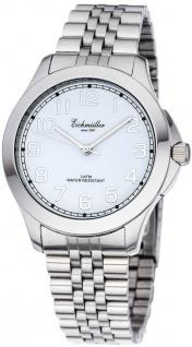 Eichmüller Herrenuhr analoge Uhr Edelstahl silbern Armbanduhr 3ATM Quarzwerk