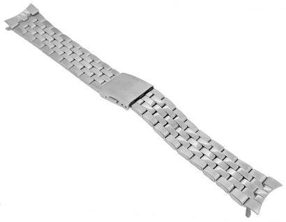 Festina Ersatzband 21mm Edelstahl matt gebürstet / glänzend Faltschließe F16871