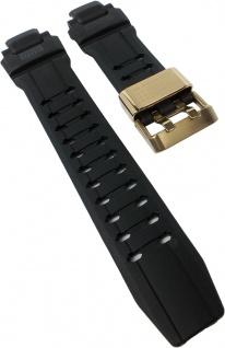 Ersatzband für Casio Limited Edition 30TH Anniversary Uhrenarmband aus Resin schwarz GW-A1030A