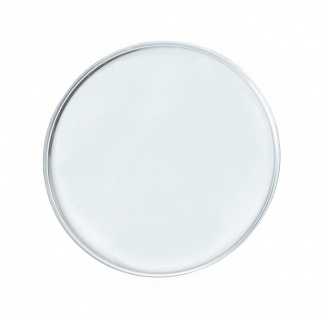 Minott ATC R   Ersatzglas rund gewölbt   Uhrenglas Kunststoff armiert Chrom   32745