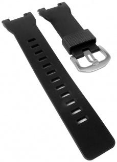 Casio Armband   Uhrenarmband Resin Band Wasserfest schwarz für Pro Trek PRW-7000