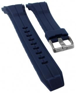 Calypso Ersatzband blau Kunststoff Dornschließe silbern Spezial Anstoß K5687/5