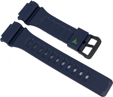 Casio Uhrenarmband Resin Band Blau für STL-S100H 10487314