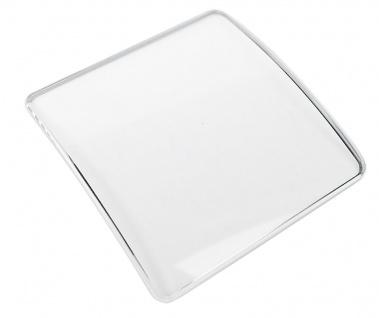Minott Ersatzteile Mineralglas Uhrenglas Ersatzglas gewölbt eckig 14, 0 x 22, 0 H1, 5-2, 5