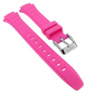 Calypso Ersatzband aus Kunststoff in pink mit Schließe silberfarben Spezial Anstoß K5756/4 K5756
