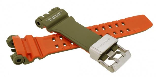 Casio G- Shock Gravitymaster Ersatzband grün Resin Band Schließe silbern GPW-1000KH GPW-1000KH-3A - Vorschau 2