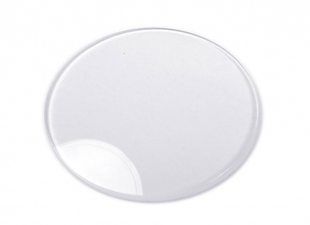 Junghans Ersatzglas Uhrenglas Saphirglas flach rund für Mega Solar Ceramic 018/1111