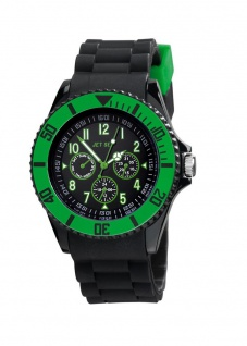JET SET Multifunktion Armbanduhr Serie Addiction² J19703-28