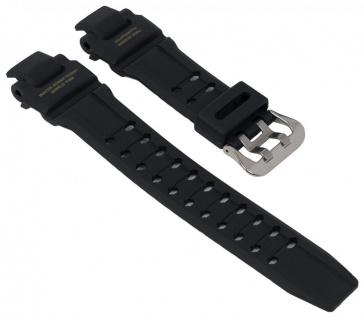Casio Armband G-Shock Gravitymaster Uhrenarmband für GA-1100 schwarz mit goldener Schrift