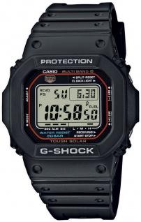 Digitale Herrenuhr Casio G-Shock schwarz 20 Bar GW-M5610-1ER der Klassiker Funk und Solar