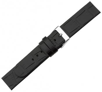 Minott Ersatzband schwarz Krokoprägung Leder Spezial Anstoß zum Verschrauben
